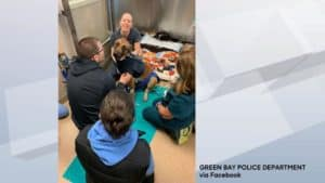 Green Bay Chief says K-9 Pyro likely prevented officer-involved shooting (WBAY)